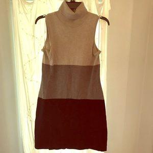 INC turtleneck sweat dress